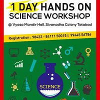 One DAY HANDS ON SCIENCE