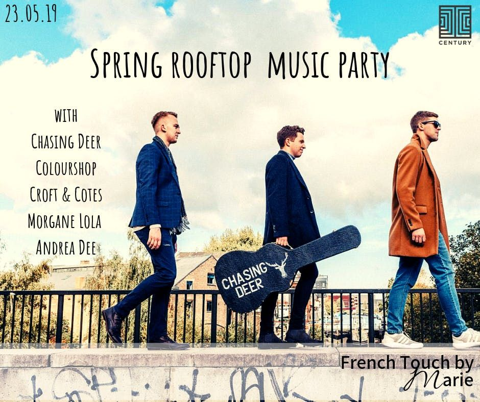 Music Extravanganza Rooftop Party with French Touch by Marie