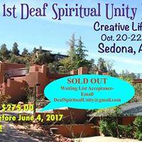 1st Deaf Spiritual Unity Retreat
