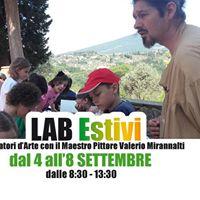 Laboratorio dArte estivo a settembre