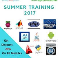 Industrial Training  Summer Training 2017