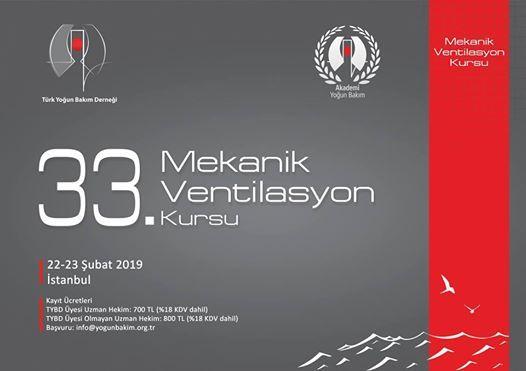 33. Mekanik Ventilasyon Kursu