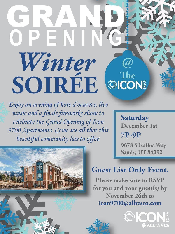 Allresco icon 9700 apartments grand opening at icon 9700, sandy