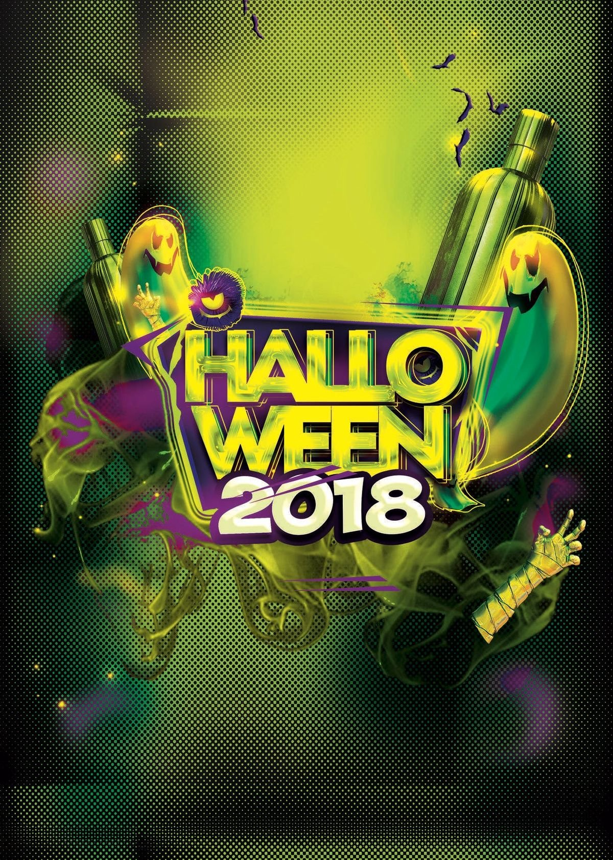 OTTAWA HALLOWEEN PARTY 2018  THE BOURBON ROOM  OFFICIAL HALLOWEEN MEGA PARTY