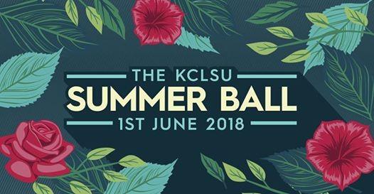 The KCLSU Summer Ball 2018