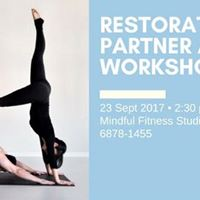Restorative Partner Aerial Workshop for Body and Soul Recharge