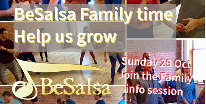 Join the BeSalsa Family - info session 2