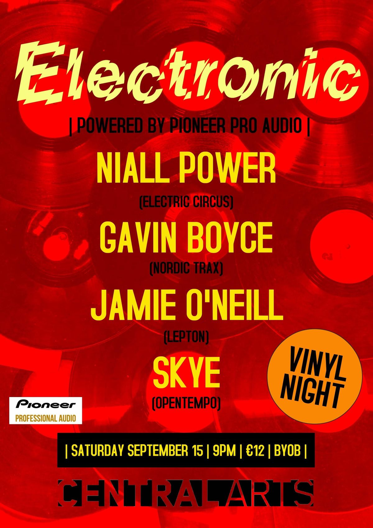 Electronic - Vinyl Night
