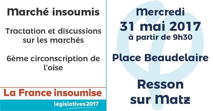 Marche Insoumis At Ressons Sur Matz France Ressons Sur Matz
