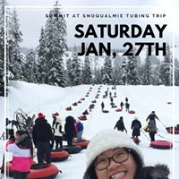 CIE Winter Activity The Summit at Snoqualmie Tubing Trip