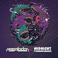 Megalodon &amp Midnight Tyrannosaurus 513 at Olympic Theater