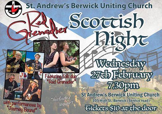 Red Grenadier Scottish Night