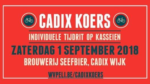 Cadix Koers 2018
