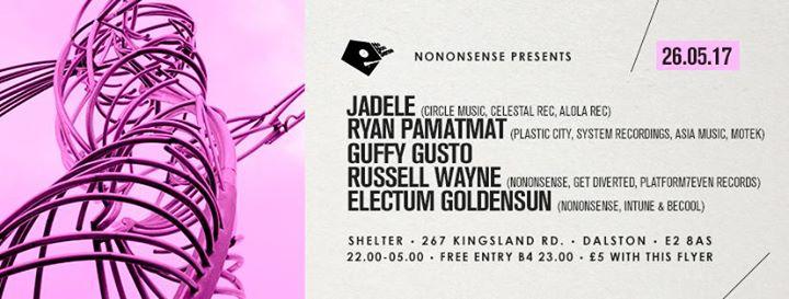 NoNonSense Sessions feat Jadele Guffy Gusto  Residents.