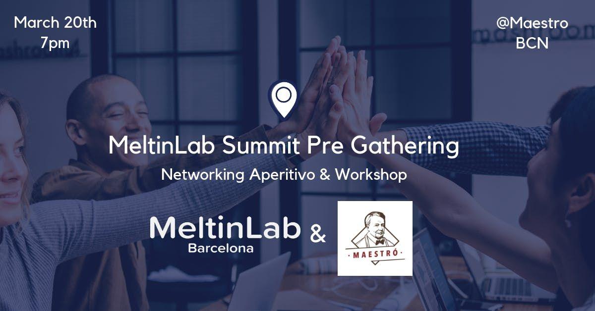 MeltinLab summit 9 PreGathering - Networking & Workshop