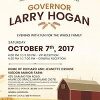 Harford Co. Welcomes Gov. Larry Hogan
