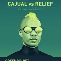 Green Velvet aka Cajmere Dajae Heather&ampMore Friday March 3rd