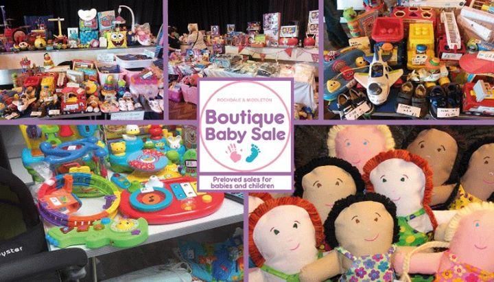 97ce979d1 Boutique Baby Sale - Middleton at Bowlee Park Gym, Manchester