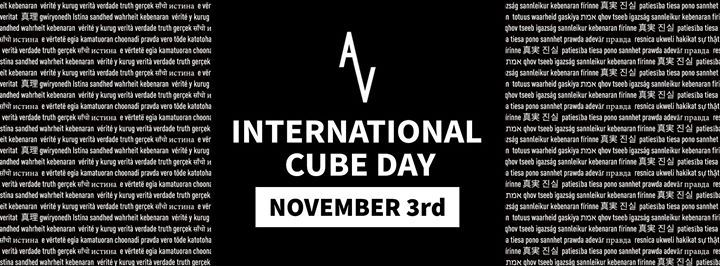 International Cube Day Albany NY November 2nd