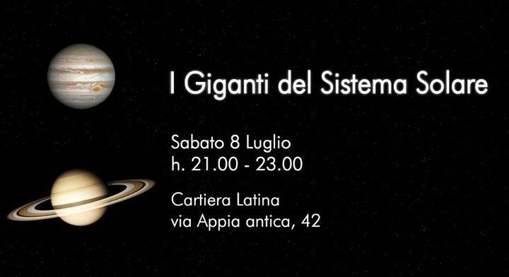 I Giganti del Sistema Solare