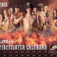 2018 Utah Fire Fighter Calendar Meet &amp Greet and Fundraiser