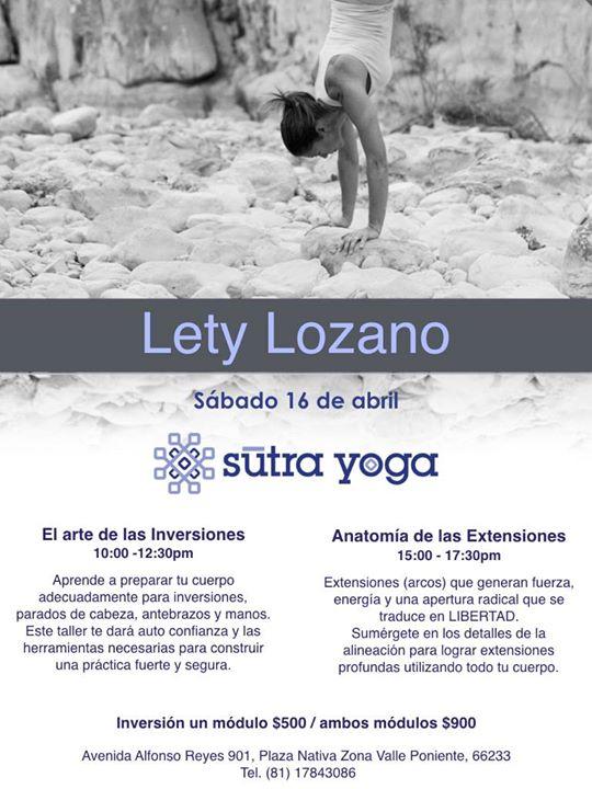 Arte de las Inversiones y Anatomia de las Extensiones con Lety ...