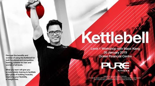 Kettlebell Level 1 Workshop with Maxx Kang