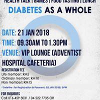 Diabetes Malaysia Penang Branch