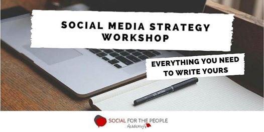 Social media strategy workshop October 2018