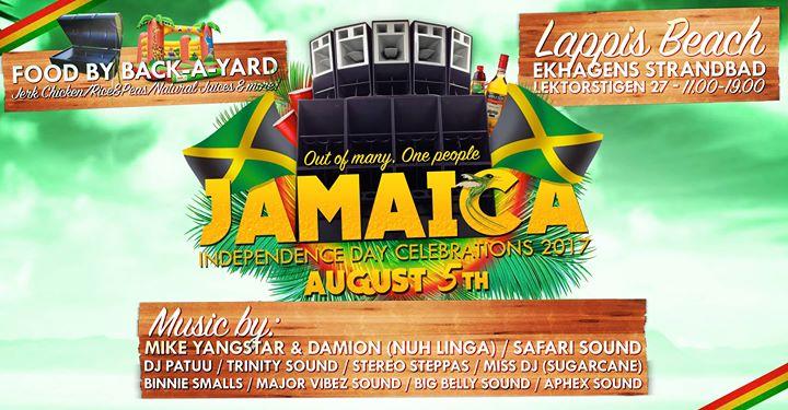 Jamaica Independence Day Lappis Beach At Lappis Beach Stockholm