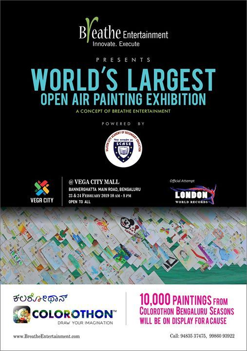 Welcome to the worlds largest open-air painting display exhibit