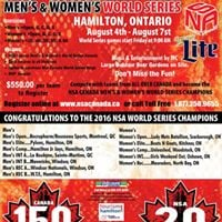 2017 NSA Canada Mens and Womens World Series