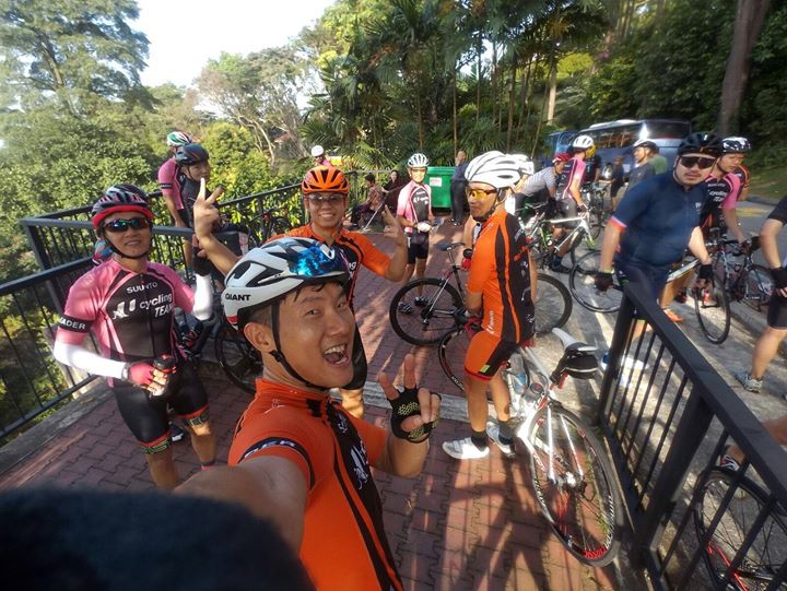 U Cycling Team - Route 3 (Mount Faber)
