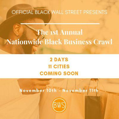 OBWS presents The Nationwide Black Business Crawl - Atlanta