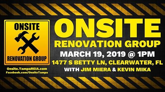 Onsite Renovation Group at Clearwater Rehab Project