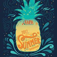 FAPA 2017 Summer Symposium