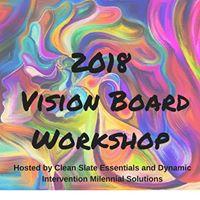 2018 Vision Board Workshop