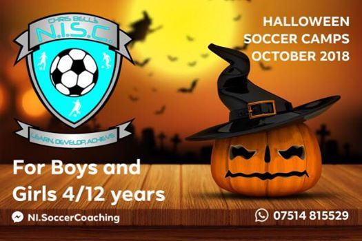 Halloween Soccer Camp (3 day) at Campbell College