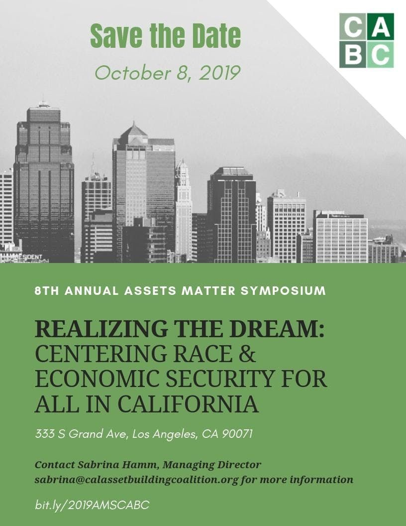Realizing the Dream Centering Race & Economic Security for All in California