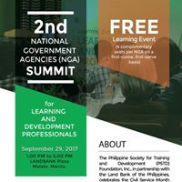 2nd National Government Agencies Summit for L&ampD Professionals