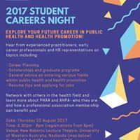 2017 Student Career Night