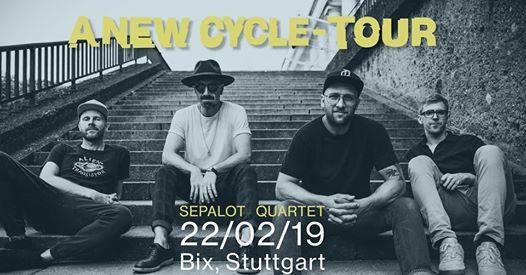Sepalot Quartet  Stuttgart - Bix