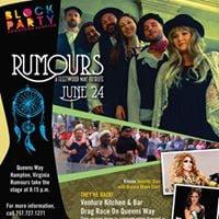 Rumours Fleetwood Mac Tribute - Venture Kitchen &amp Bar Drag Race