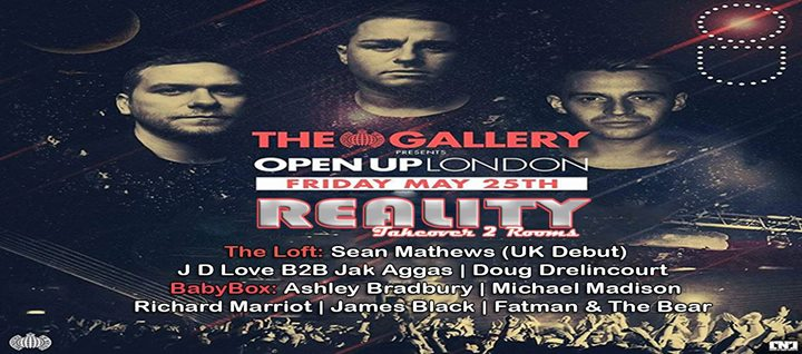 Reality Takeover with OPEN UP at The Gallery