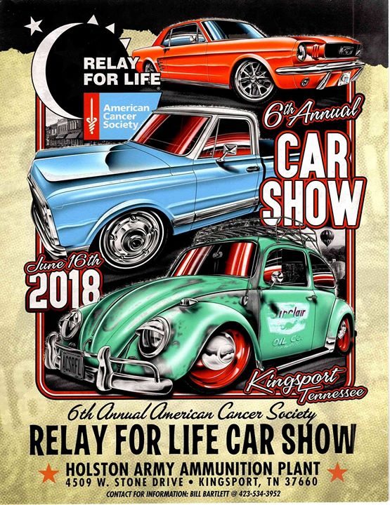 Th Annual American Cancer Society RFL Car Show At W - Car show banners