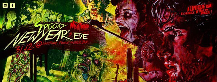 Spooky SilvestrNew Years Eve at Nightmare Horror bar