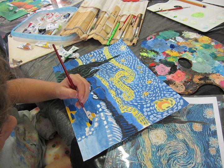 Amato Mostra di pittura del corso di tecniche artistiche per bambini  TJ37