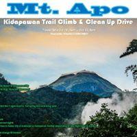Mt. Apo Clean Up Drive Kidapawan Trail