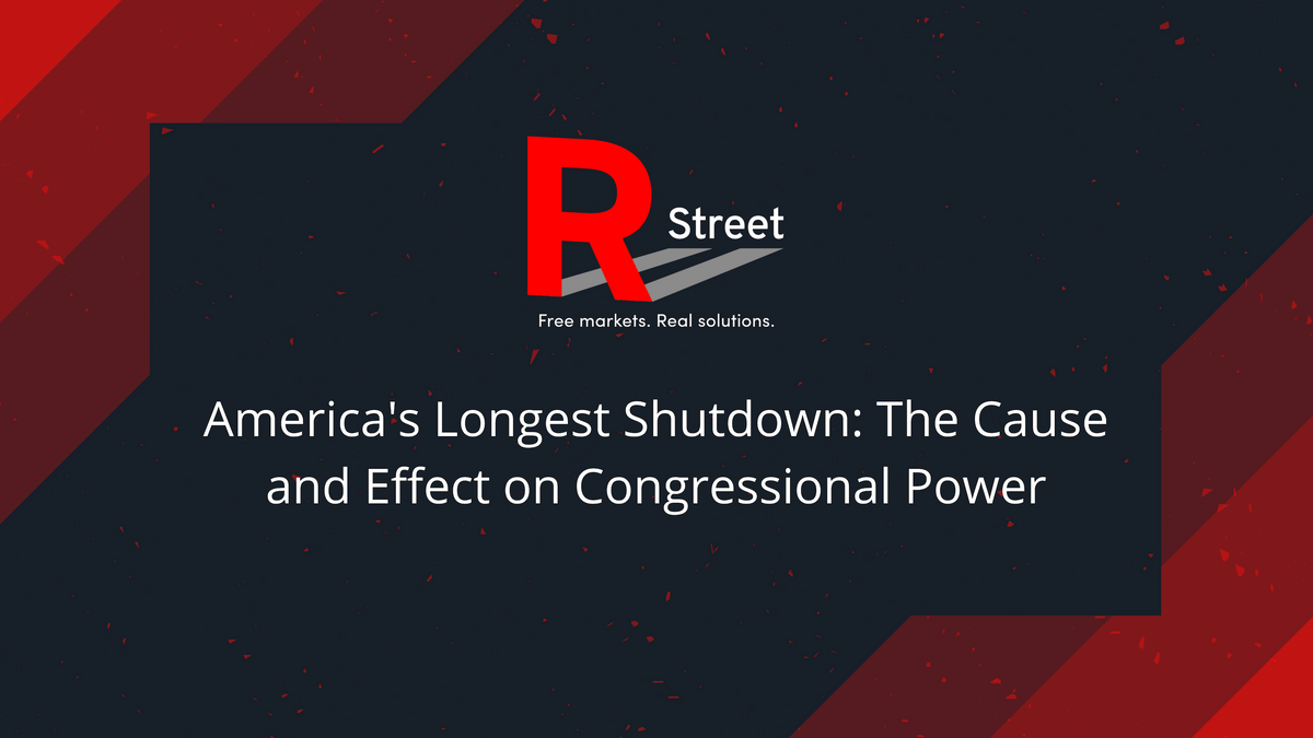 Americas Longest Shutdown The Cause and Effect on Congressional Power