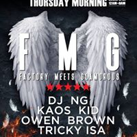 FMG every Wednesday night 12am-8am at Union